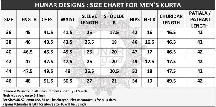 Men-kurta-size-chart