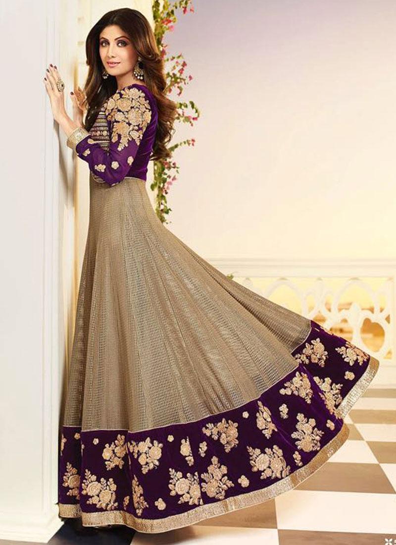 Jacqueline In Designer Salwar Kameez  Zeenat Style
