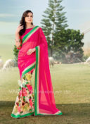 IMPRESSIVE MULTI COLOR SEQUINNED SAREE