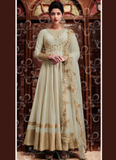 OFF WHITE N BEIGE EMBROIDERED DESIGNER WEDDING SUIT