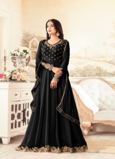 SONAL CHAUHAN BLACK PARTY WEAR DESIGNER SUIT